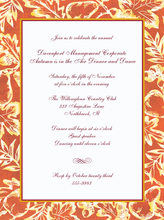 Product Image For fall Elegance invititation