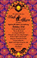 Product Image For Halloween Creeps Invitation