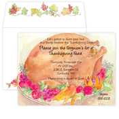 Product Image For Turkey Feast Invitation