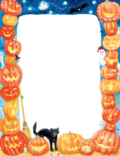 Product Image For Halloween Pumpkins Laser Paper