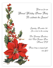 Product Image For Poinsettia Laser Paper