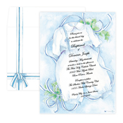 Product Image For Boy Christening and Baptism Invitation