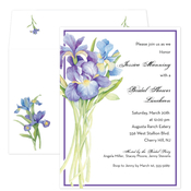 Product Image For Purple Bulbs invitation