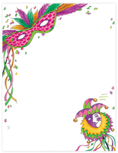 Product Image For Mardi Gras Mask Laser paper
