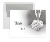 Product Image For Communion Boy Hands Thank You Note
