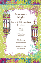 Product Image For Moroccan Nights Invitation