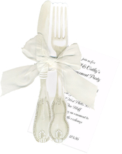 Product Image For Silver Flatware Invitation