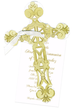 Product Image For Ornate Cross Die-Cut invitation