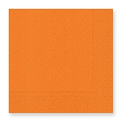Product Image For Pebble Orange Luncheon Napkin
