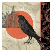 Product Image For Boo Raven Luncheon Napkins