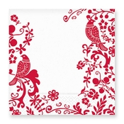 Product Image For Berry Damask Luncheon Napkin