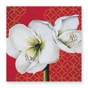 Product Image For Amaryllis Luncheon Napkin