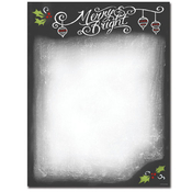 Product Image For Holiday Chalkboard Laser Paper