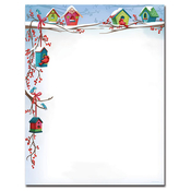 Product Image For Christmas birdhouses Laser Paper