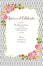 Product Image For Wrought  Iron Invitation