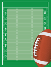 Product Image For Football Field Laser Paper