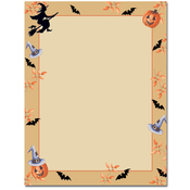 Product Image For Halloween Harvest letterhead