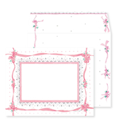 Product Image For Pink Ribbon NoteCard