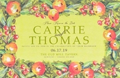 Product Image For Botanical Tapestry invitation