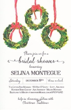 Product Image For 3 Box Wreaths Invitation