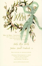 Product Image For Seeded Eucalyptus Invitation