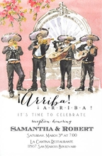 Product Image For Mariachi Band Invitation