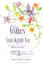Product Image For Tikerbells Garden invitation