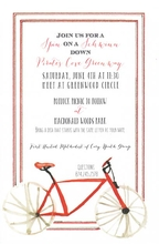 Product Image For Hensley's Spin on Schwinn invitation