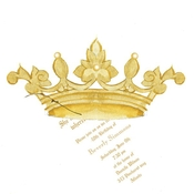 Product Image For Crown Die Cut invitation