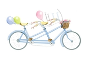 Product Image For Bicycle Built for Two invitation