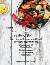 Product Image For Seafood Boil Laser Paper