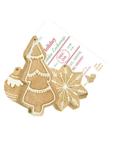 Product Image For Christmas Cookies Die Cut invitation