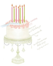 Product Image For Cake Die Cut invitation