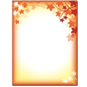 Product Image For Fall Silhouette Letterhead