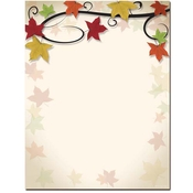 Product Image For Autumn Vine Letterhead