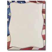 Product Image For Patriotic Letterhead