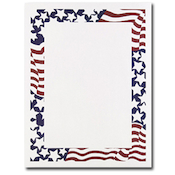 Product Image For Stars & Stripes Letterhead