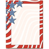 Product Image For Star Spangled Banner Letterhead