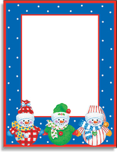 Product Image For Dressed Up Snowmen Paper