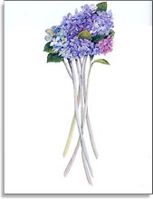 Product Image For Vase of Hydrangea