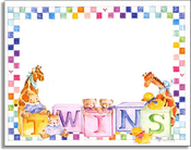 Product Image For Twin Blocks Note Cards