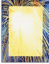 Product Image For Fireworks Burst Paper