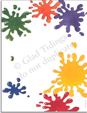 Product Image For Paint Splash Paper