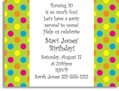Product Image For Hot Dots Digital Invitation