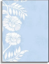 Product Image For White on Blue Batik Laser Paper