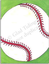 Product Image For Baseball Toss Paper