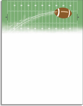 Product Image For Touchdown Letterhead