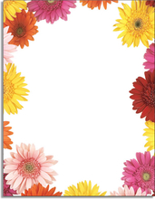 Product Image For Gerbera Daisies Letterhead