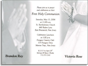 Product Image For Communion Boy & Girl W/ Vellum
