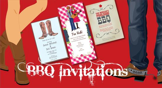 BBQ Invitations